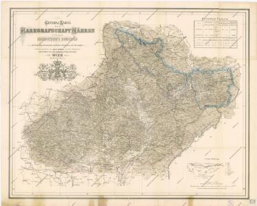 Generalkarte der Markgrafschaft Mähren und des Herzogthum ́s Schlesien