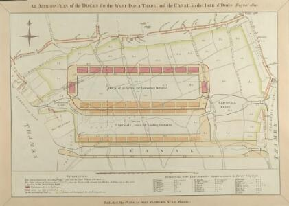 An Accurate Plan of the Docks for the West India Trade