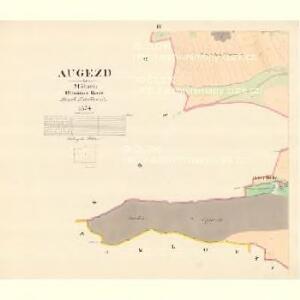 Augezd - m3213-1-003 - Kaiserpflichtexemplar der Landkarten des stabilen Katasters