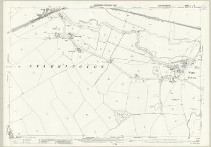 Huntingdonshire I.16 (includes: Ailsworth; Chesterton; Elton; Sibson cum Stibbington; Sutton; Water Newton) - 25 Inch Map