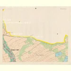 Brunnersdorf (Pronirow) - c6148-1-003 - Kaiserpflichtexemplar der Landkarten des stabilen Katasters