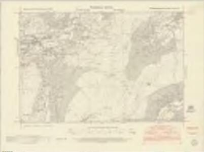Caernarvonshire XXIII.SE - OS Six-Inch Map