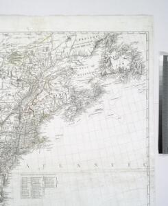 A new map of the British colonies in North America : shewing the seat of the present war, taken from the best surveys, compared with and improved from manuscripts of several noblemen and gentlemen / by John Andrews.