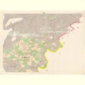 Rennersdorf - c6666-1-005 - Kaiserpflichtexemplar der Landkarten des stabilen Katasters