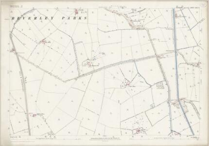 Yorkshire CCXI.13 (includes: Woodmansey) - 25 Inch Map