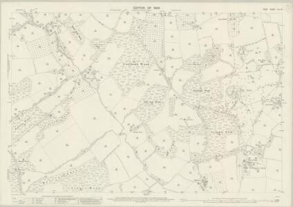 Kent LXI.16 (includes: Horsmonden) - 25 Inch Map