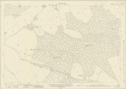 Oxfordshire L.7 (includes: Pishill with Stonor; Swyncombe; Watlington) - 25 Inch Map