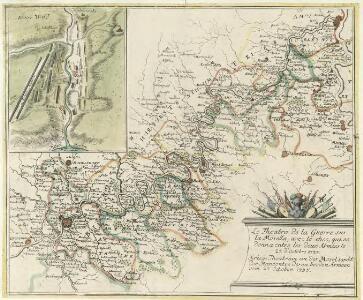 Theatre de la Guerre sus la Mosella, avec le choc., qui se donna entre les deux Armées le 20. Octobre 1735