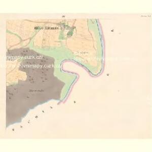 Rzimau - c6721-1-004 - Kaiserpflichtexemplar der Landkarten des stabilen Katasters