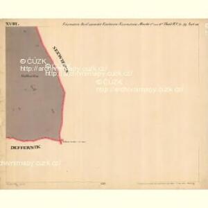 Eisenstein Dorf - c7755-2-018 - Kaiserpflichtexemplar der Landkarten des stabilen Katasters