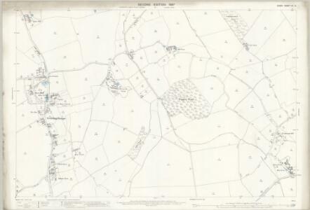 Essex (1st Ed/Rev 1862-96) XII.5 (includes: Bulmer; Gestingthorpe; Wickham St Paul) - 25 Inch Map