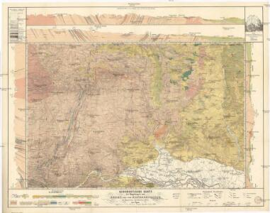 Geognostische Karte der Umgebungen von Krems und von Manhardsberge