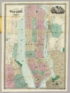 Map Of New York and Vicinity.