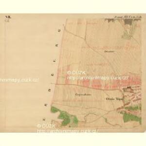Gross Tajax - m0606-1-008 - Kaiserpflichtexemplar der Landkarten des stabilen Katasters