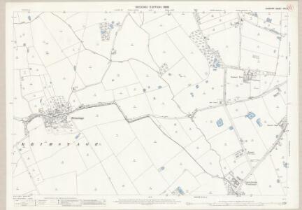 Cheshire XXII.3 (includes: Bebington and Bromborough; Brimstage; Poulton cum Spital; Storeton; Thornton Hough) - 25 Inch Map