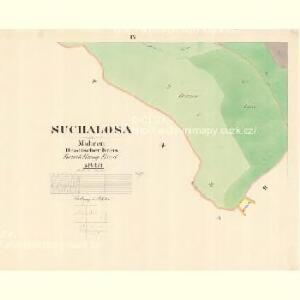 Suchalosa - m2947-1-009 - Kaiserpflichtexemplar der Landkarten des stabilen Katasters