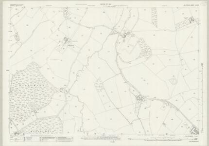 Wiltshire XLIV.3 (includes: Dilton Marsh; Heywood; North Bradley; Southwick; Westbury) - 25 Inch Map