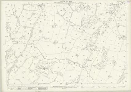 Kent LXXVIII.4 (includes: Benenden; Sandhurst) - 25 Inch Map