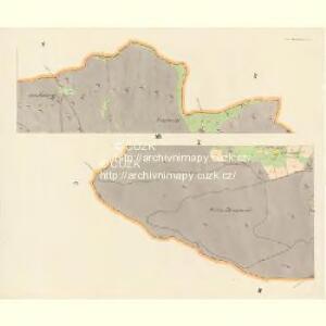 Gross Nixdorf - c4628-1-009 - Kaiserpflichtexemplar der Landkarten des stabilen Katasters