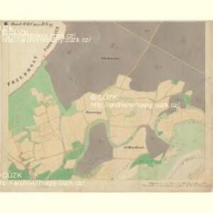 Prerau (Přerow) - m2453-1-009 - Kaiserpflichtexemplar der Landkarten des stabilen Katasters