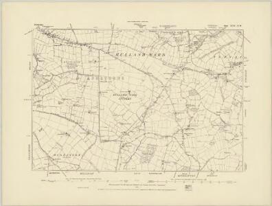 Derbyshire XLIV.SE - OS Six-Inch Map