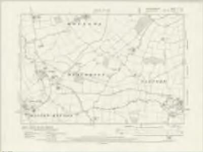 Buckinghamshire X.SE - OS Six-Inch Map
