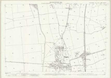 Lincolnshire LXXXVII.15 (includes: Ashby De La Launde and Bloxholm; Digby; Dorrington; Rowston) - 25 Inch Map