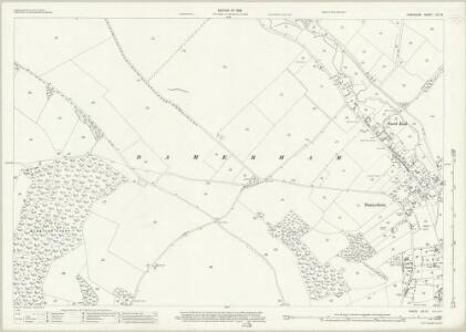 Hampshire and Isle of Wight LIV.13 (includes: Damerham) - 25 Inch Map