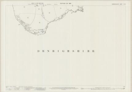 Caernarvonshire XIV.15 (includes: Llangernyw; Llanrwst Rural; Maenan) - 25 Inch Map