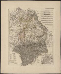 [Atlas zur Geschichte von Bayern] : VII. Das Königreich Bayern nach seinen gegenwärtigen Bestandtheilen mit allen Gebiets-Veränderungen von 1801 bis 1816