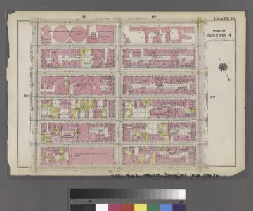 [Plate 81: Bounded by W. 59th Street, Ninth Avenue, W. 53rd Street, and Eleventh Avenue.]