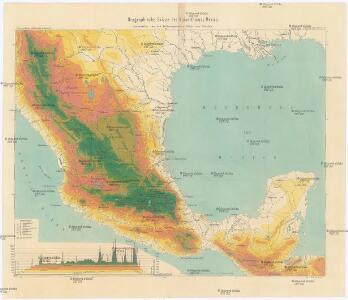 Orographische Skizze des Kaiserthumes Mexico