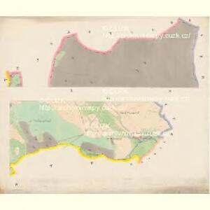Sobieschitz (Soběssicze) - c7121-1-007 - Kaiserpflichtexemplar der Landkarten des stabilen Katasters