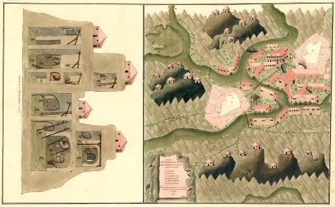 Plan Deren Bergwerg Von Zin Bei Stirn Und Drosau An Tepla Flus