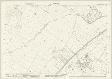 Nottinghamshire XXXIV.8 (includes: Bleasby; Fiskerton Cum Morton; Halloughton; Rolleston; Southwell) - 25 Inch Map