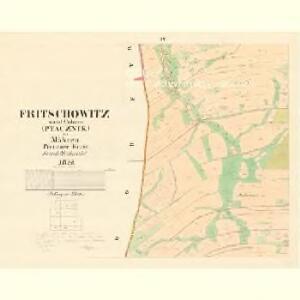 Fritschowitz - m0628-1-004 - Kaiserpflichtexemplar der Landkarten des stabilen Katasters