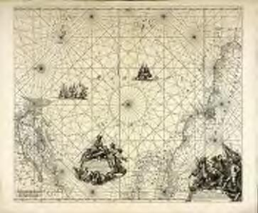Terra Nova, ac maris tractus circa Novam Franciam, Angliam, Belgium, Venezuelam Novam Andalusiam, Guianam, et Brasiliam