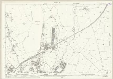 Staffordshire XXXVII.7 (includes: Cresswell; Hopton And Coton; Stafford) - 25 Inch Map
