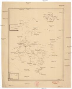 Karta okresnostej Ochridskago i Prespanskago ozer