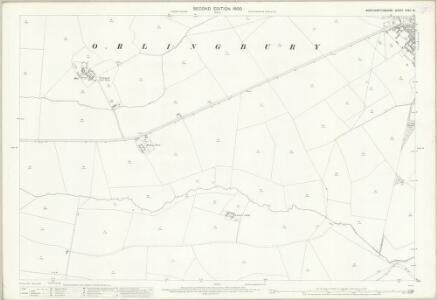 Northamptonshire XXXII.13 (includes: Hardwick; Little Harrowden; Orlingbury) - 25 Inch Map