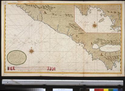 Een gedeelte van de Zuijd Zee aen de kust van Guatimala van R. Haztatlan tot P. de Borica