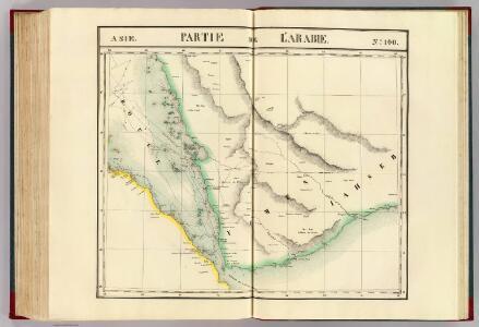 Partie, l'Arabie. Asie 100.
