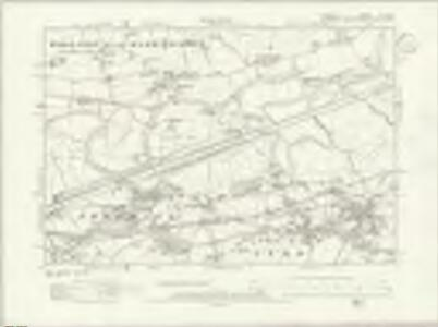 Cheshire XVII.NW - OS Six-Inch Map