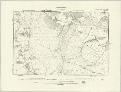 Somerset XLVII.SW - OS Six-Inch Map