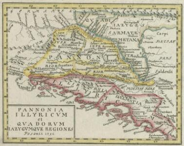 Pannonia Illyricum et Quadorum Iazygumque Regiones