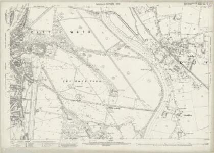 Buckinghamshire LVI.10 (includes: Datchet; New Windsor) - 25 Inch Map