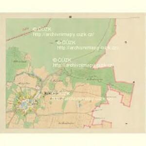 Maschitz - c4538-1-003 - Kaiserpflichtexemplar der Landkarten des stabilen Katasters