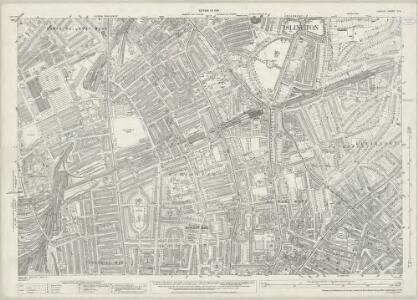 London (1915- Numbered sheets) V.2 (includes: Islington) - 25 Inch Map