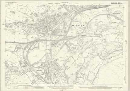 Brecknockshire XLVII.7 (includes: Aberystruth; Bryn Mawr; Llanelli) - 25 Inch Map