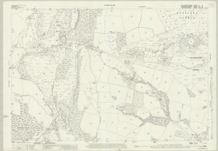 Gloucestershire X.4 (includes: Berrow; Birtsmorton; Bromsberrow; Castlemorton; Eastnor) - 25 Inch Map